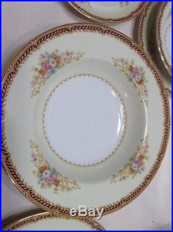 Antique Noritake China Dinnerware Set With Serving Dishes Plates Cups Bowls RARE