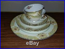 Antique Noritake China Set 10 Place Set With Service Pieces (84 pieces total)