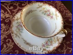 Antique Noritake Japan China Set 1930 Lismore Pattern 42. Pieces Service for Six