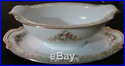 Antique Noritake N49 WFine China Dinner Service Set For 12 With Completer Pieces