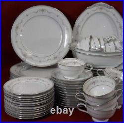 Antique dishes sets Vintage Noritake CHINA Glenwood Set 5770, Brand New 1950s