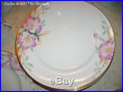 Azalea by Noritake China 50 piece set- excellent condition