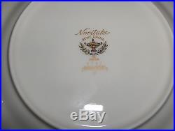 Beautiful 28 Pc Set Noritake Barrymore Ivory-Bone China 9737 NICE
