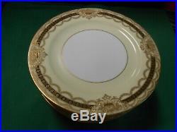 Beautiful NORITAKE Augustan China. Set of 12 BREAD-SALAD-DESSERT Plates 6.25