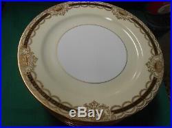 Beautiful NORITAKE Augustan China. Set of 12 DINNER Plates