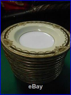 Beautiful NORITAKE Augustan China. Set of 13 SOUP BOWLS. 8