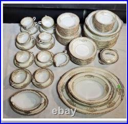 Beautiful Noritake Bancroft 5481 China 90Pc Set A1 Condition