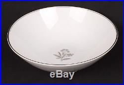 Beautiful Platinum Trim Noritake Bessie 5788 China Set 104 Pieces Great Set