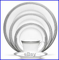 CRESTWOOD PLATINUM CHINA by Noritake- 20 PC 4-5 Pc PLACE SETTING NEW In Box