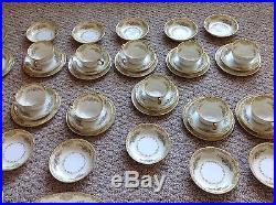 C 1933 Noritake China Pattern Alvin 58 Piece Set Service for 11 plus extras