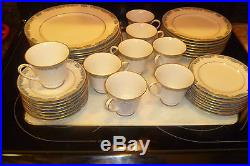 China Noritake Oberlin 6107 89 Pcs. 16 Place settings plus serving pieces