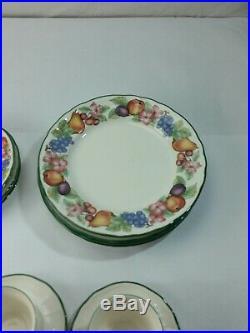 Epoch Noritake Market Day 20 Piece Set 4 Place Setting E801 China Fruit