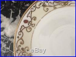 FANTASTIC Noritake Nippon China 15 Pc Hand Painted Gold Gilded Tea Set
