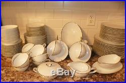 Fabulous Elegant 92 pc Set of NORITAKE COLONY China Dinnerware. Service for 12