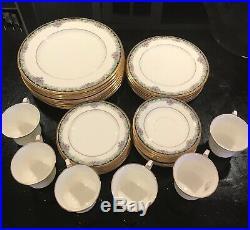 Full 6 SETS OF FIVE NORITAKE BONE CHINA MI AMOR Bonus 2 extra dinner plates