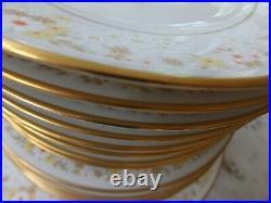 Full Serving Set for 8 Noritake Ivory China Set Style 7025 Fragrance 45 pcs
