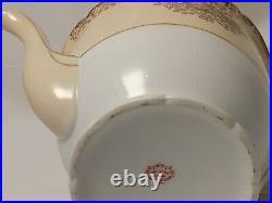 Goldena China Tea Set-gold Overlay- 24 Piece Serves 7-made In Japan Rare