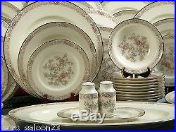 HUGE NORITAKE IMPERIAL GARDEN Bone China Dinner Set