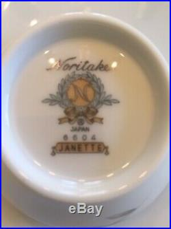 Janette Fine China by Noritake 96 piece setting for 12 Flawless