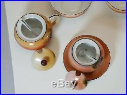 Japanese Noritake China River Sunset M Set Plates, Tea Cups, Serving Bowl