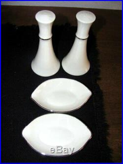 Lenox Montclair China Set for 9 10 with Serving Pieces Mint