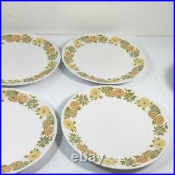 Lot Noritake Progression Sunny Side China Dinnerware 6 Place Setting Japan