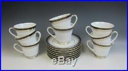 Lot of 8 Noritake China GRAND MONARCH Cup & Saucer Sets EXCELLENT