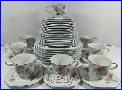 MIKASA CONTINENTAL SILK FLOWERS 8 place setting china Japan 40 PIECES F3003