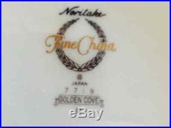 NEW, Noritake 37 piece, 6 place settings, Golden Cove Fine Wedding China! # 7719
