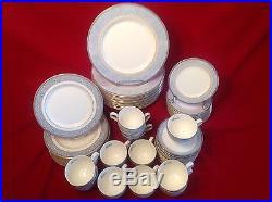 NEW Noritake Alsatia Bone China 60 piece 12 person set