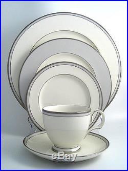 Noritake Aegean Mist China 20 Piece 4 Dinner Setting Dinner Salad Plate Cup