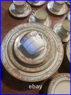 NORITAKE BARRYMORE 9737 CHINA FOUR PLACE SETTINGS /20PCS (3 sets avail)