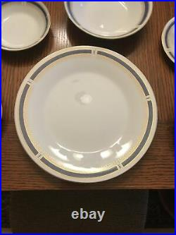 NORITAKE Blue Dawn China Set Service For 4, 28 Pieces