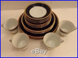 NORITAKE CHINA 2799 VALHALLA SERVICE FOR 4 20pc SET EXCELLENT