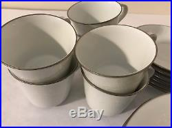 NORITAKE CHINA REINA 6450Q china 23-piece TEA or DESSERT Set with Teapot