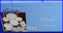 NORITAKE CHINA ROTHSCHILD PATTERN 48 of 50 PIECE SET MISSING TEA CUP & SAUCER