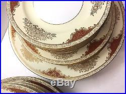 NORITAKE CHINA SET Service For 4 Plus 4986 MORIMURA Plates Bowls Saucers 34 Pcs