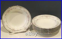 NORITAKE CHINA SHENANDOAH 6 FRUIT SAUCE DESSERT BOWLS XLNT (4 sets in stock)