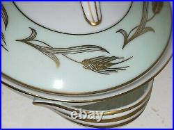 NORITAKE China ALICE #5267 23 Piece Vintage Teacup Teapot Dessert Set for 6