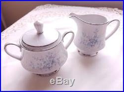 NORITAKE China CAROLYN 2693 pattern 105-piece SET SERVICE for 12 Plus Serving