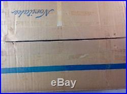 NORITAKE China HYANNIS PORT 9797 5PC Completer Set Platter Bowl Cream & Sug MIB