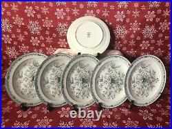 NORITAKE China Paradise Green 23 Piece Teapot Set Serves 6 Japan 8223 W80