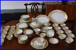NORITAKE China Set 98 pieces total /Goldbelle Pattern