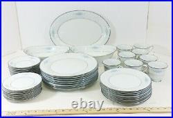 NORITAKE Dinnerware Set 8 Service Porcelain China Plate Serving Bowl Chadbourne