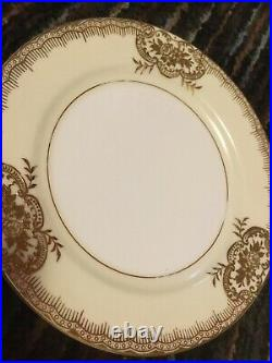 NORITAKE Handpainted China 21-piece DESSERT SET Service for 6 Excellent Cond