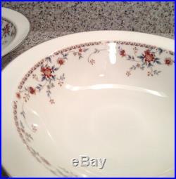 NORITAKE Ivory China ADAGIO #7237 Pattern 10 ROUND SERVING BOWLS Set of 2