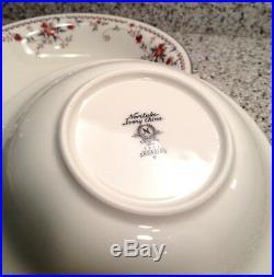 NORITAKE Ivory China ADAGIO #7237 Pattern 7 1/2 SOUP BOWLS Set Of 4