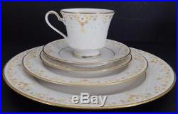NORITAKE Ivory China FRAGRANCE (6) 5 Pc Place Settings- Service for 6- 30 Pieces