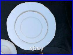 NORITAKE Ivory China Imperial Gold Service for Four 20pc Set NEW Never use