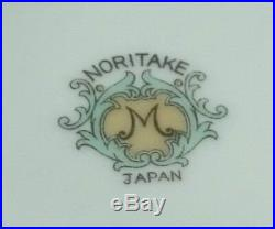 NORITAKE JAPAN CHINA Vintage Gravy Vegetable GOLD PORCELAIN Bowl Boat Lot Set